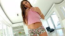 Givemepink Beautiful brunette Diana Dolce tease... thumb