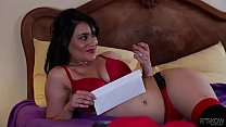Hot wife Charley Chase surprised her husband