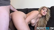 PropertySex - Curvy real estate agent fucks her client in condo