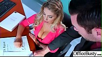 Hardcore Sex In Office With Huge Boobs Girl (August Ames) vid-03