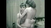 SLO-Young couple at home part 1