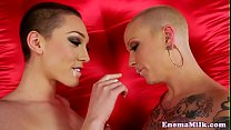 Screenshot Bald enema l ezy Lily Labeau milky ass toyed