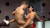 6691 Busty Lisa Ann Provides the Ultimate Milf Shake while Riding Cock at Work preview