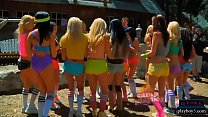 15870 Camp of young and big titted playboy bunnies screaming preview