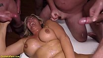 flexi Milfs first gangbang party thumb