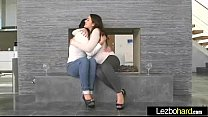 Sex Tape With Naughty Teen Lesbos Girls (Valentina Nappi & Leah Gotti) Clip-29