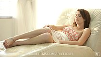 Nubile Films – Kiera Winters sweet teen pussy cums so good