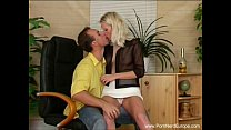 Platinum Blonde Czech MILF Sex's Thumb