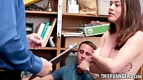 Teen Thief Veronica Vega Fucked In Front Of Her BF By LP Officer