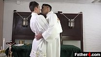 Now, as this young boy learns the ceremonies to be altar boy, he braces himself for a new level of intimacy with the Priesthood
