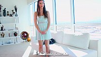 HD CastingCouch-X - Molly Jane gets her big tits slapped around with dick - 9Club.Top
