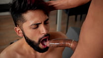 Crysp's First Time Casting With Camilo Enjoying Some Good Head Big Cock And Big Loads - Wild Latinos