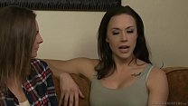 Veruca James seduces the unexperienced Shauna Skye