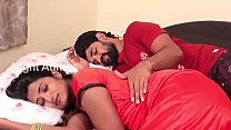 Wife and Husband Romance in Bed Room Scene HD Thumbnail