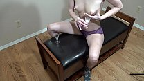 Stepmom Milf empties her milky tits into 2 crystal shot glasses
