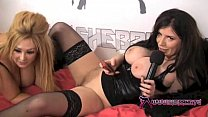 Shebang.TV - Two big ass sluts licking each other preview image