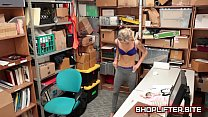 Dumb Shoplifting Nymphomaniac Backroom Sextape