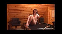 Dawn Desire Showing Off Her Pantyhose At The Pool Hall