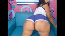 Brazilian with a very large booty in front of webcam pornoxxxmovie.com