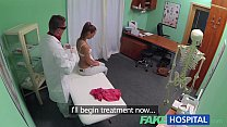 FakeHospital Nynpho brunette teen is back in th...