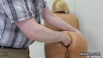 Horny girl was taken in anal hole loony bin for uninhibited therapy