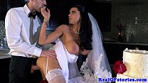 Screenshot Horny big ti tted milf bride fucked hard