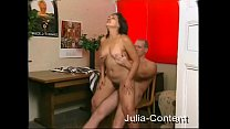 Hairy housewife fucked by a stranger
