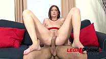 Redhead slut Katie Gold assfucked & creampied GG524 (exclusive) thumbnail