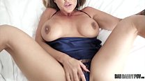 Hot Mom Aubrey Black Fucks Husband While Role Playing His Step Daughter thumbnail