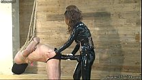 Femdom Kira Big Strapon in slave&amp;#039;s ass />