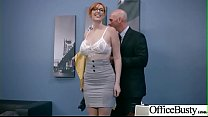 Hardcore Bang With Horny Big Tits Office Girl (Lauren Phillips) video-16 porn thumbnail