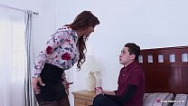 Bossy Stepmom makes her Son fuck her ass! - Syr...