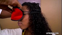 amateur footjob ◦ juicy ass ebony ivy young getting fucked by white dick thumbnail