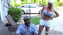 Busty MILF Alura Jenson pounded by a big black ... thumb