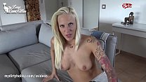 Busty Ass Babe Gets Monster Facial - My Dirty Hobby