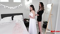 Big Tits Before The Big Day For Bride- Aften Opal And Mckenzie Lee