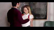 Angel Smalls Getting Fucked Hard By Her Hot Teacher Tommy Pis
