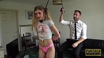 PASCALSSUBSLUTS - Young Rhiannon Ryder Rough Fucked by Daddy