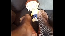 Giantess Finds Tiny Man Under Couch and Trample... thumb