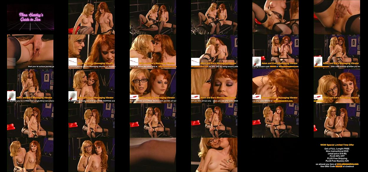 Instructional Nina Shows You How To Have A Bi Curious Journey