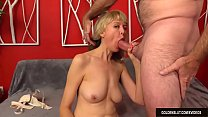 Mature Jamie Foster Fingers Her Pussy Before Receiving a Hard Fucking
