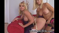 Lesbian Tryst For Mature And Young Babe video