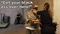BLACK PATROL - Fake Soldier Gets Used As A Blac...'s Thumb