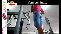 Horny ass at the gym with WILL TO GIVE THE ASS