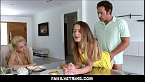 Teen Stepdaughter Shea Blaze Free Use For Stepdad At Mom's Request