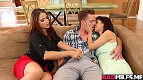 Penelope Threesome Fuck With Mom Raquel And Bf