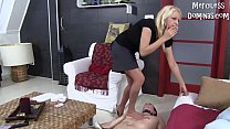 Lady Zsi Spit and Piss on her Slave - 9Club.Top