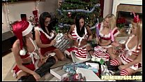 Audrey Bitoni - Gift Exchange By The Christmas ...