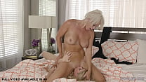 Busty wife London River having catfight and lesbian sex with Casca Akashova