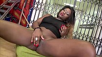 MAGMA FILM Juicy Ebony enjoys white cream Vorschaubild